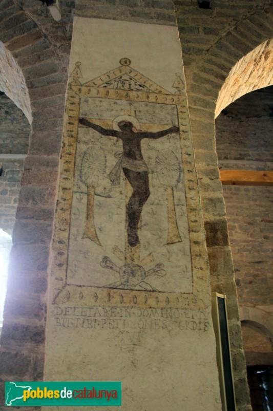 Tredòs - Santa Maria de Cap d'Aran, pintures