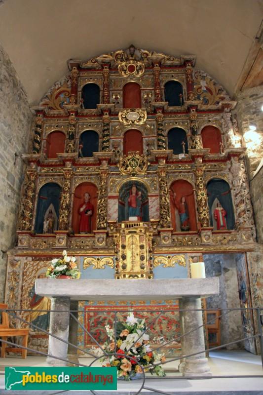 Tredòs - Santa Maria de Cap d'Aran, altar major