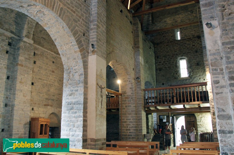 Tredòs - Santa Maria de Cap d'Aran, interior
