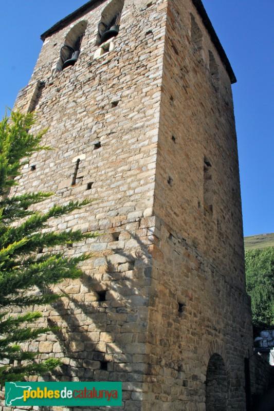 Tredòs - Santa Maria de Cap d'Aran, campanar