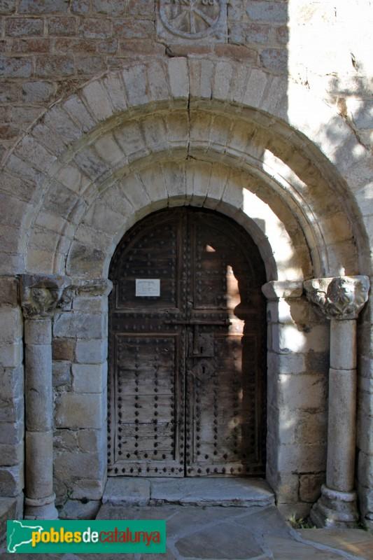 Tredòs - Santa Maria de Cap d'Aran, portada principal