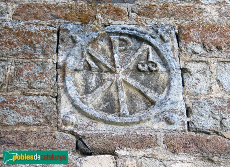 Tredòs - Santa Maria de Cap d'Aran, crismó