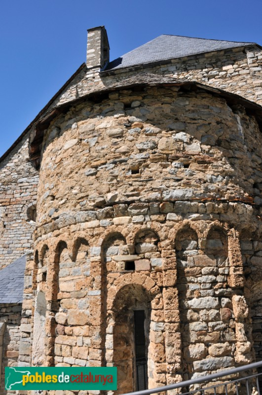 Tredòs - Santa Maria de Cap d'Aran, absis