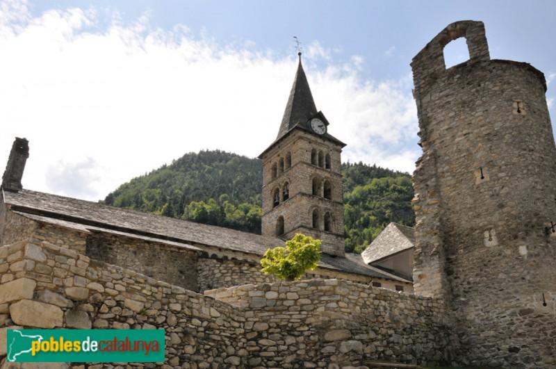 Arties - Castell i església