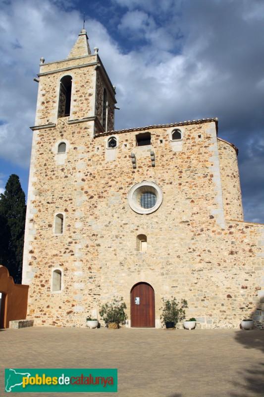 Mont-ras - Església de Sant Esteve
