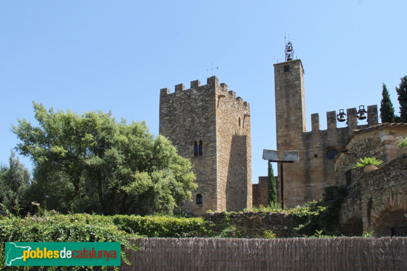 Vulpellac - Castell i església