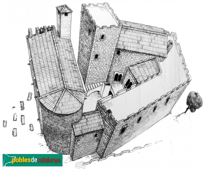 Vulpellac - Castell