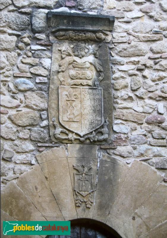 Vulpellac - Castell, detall