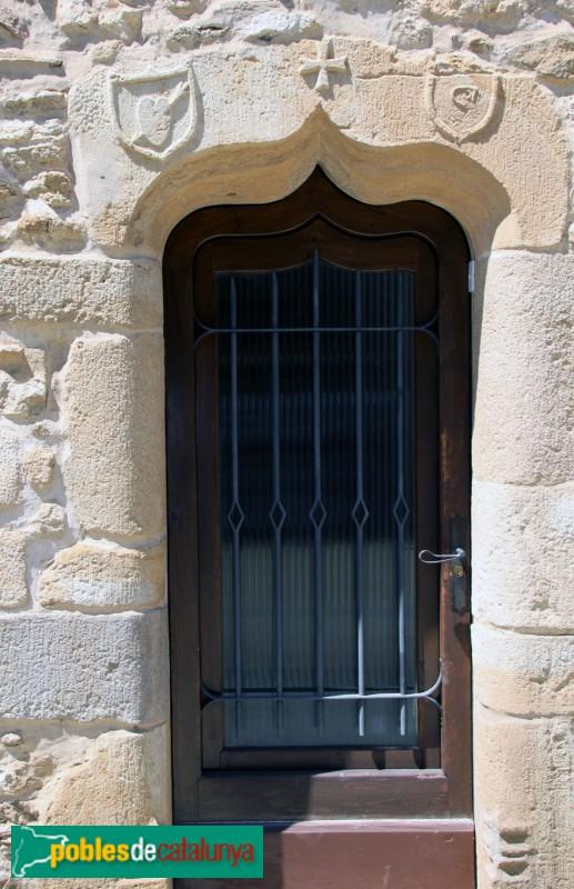 Vulpellac, portal d'una casa