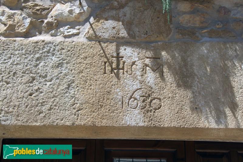 Vulpellac, llinda del segle XVII