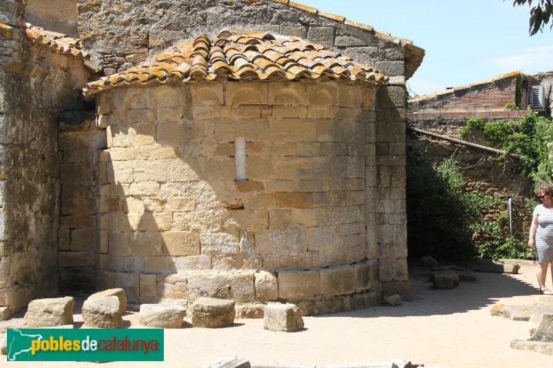 Canapost - Església de Sant Esteve, absis romànic