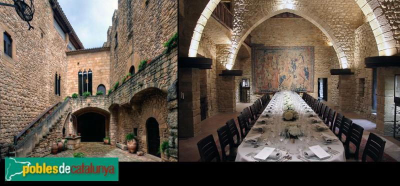 Vulpellac - Castell, pati interior i sala noble