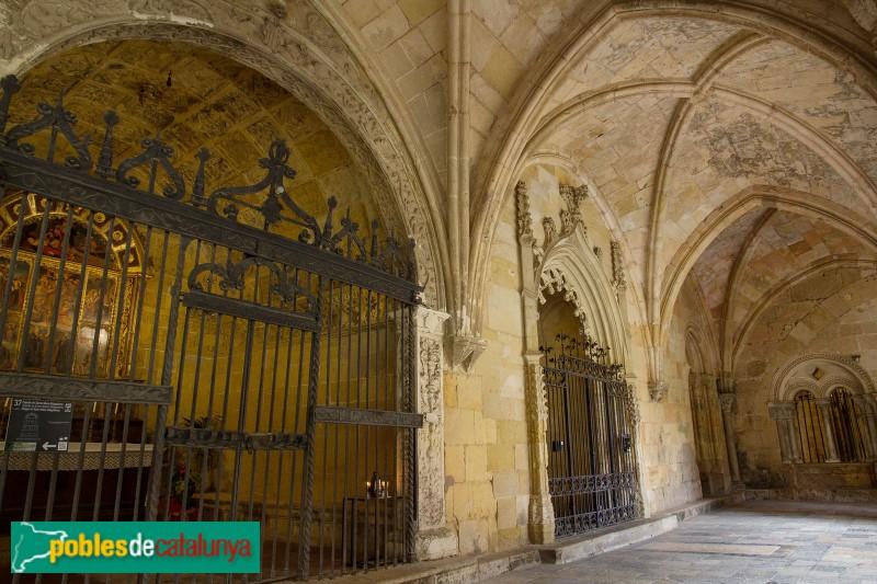 Tarragona - Catedral, claustre