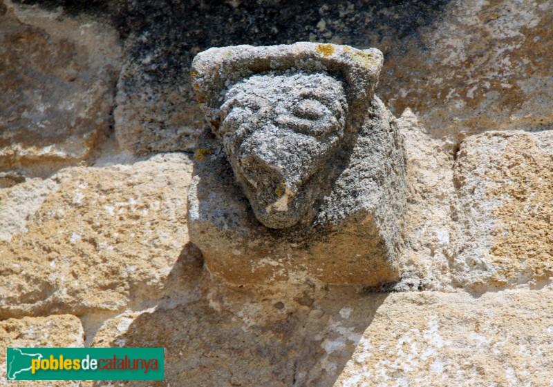 Peratallada - Església de Sant Esteve, mènsula