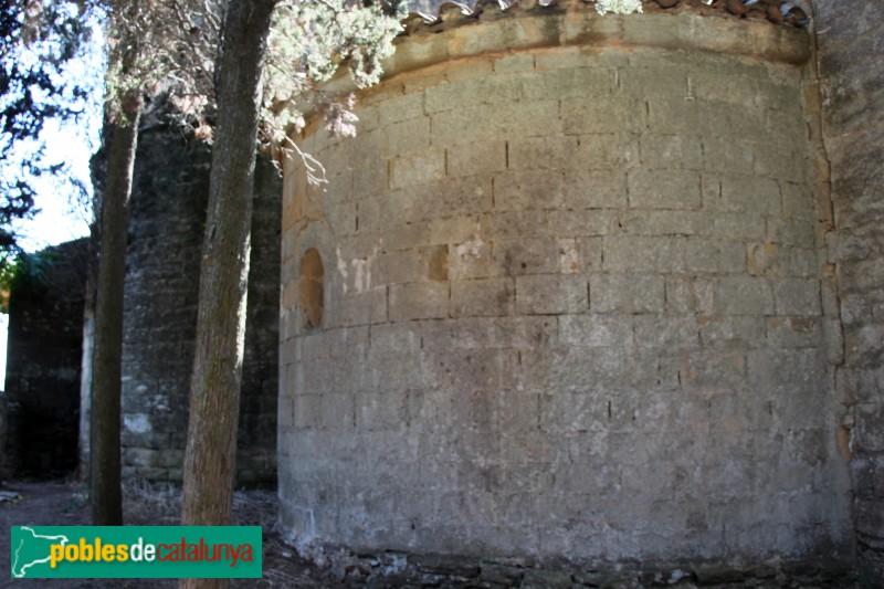 Peratallada - Església de Sant Esteve, absis