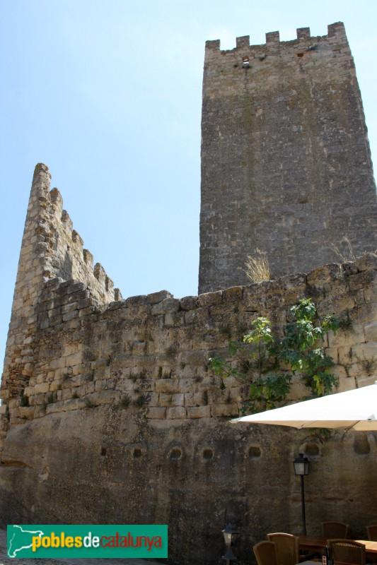 Peratallada - Castell, torre de l'Homenatge
