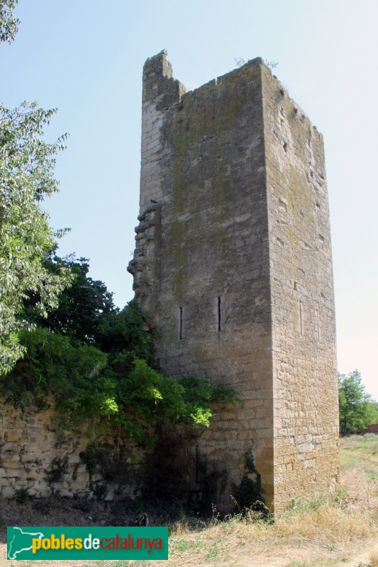 Peratallada - Muralla, torre oest