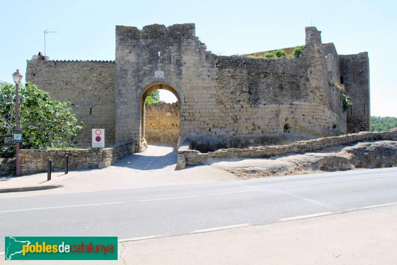 Peratallada - Muralla i portal