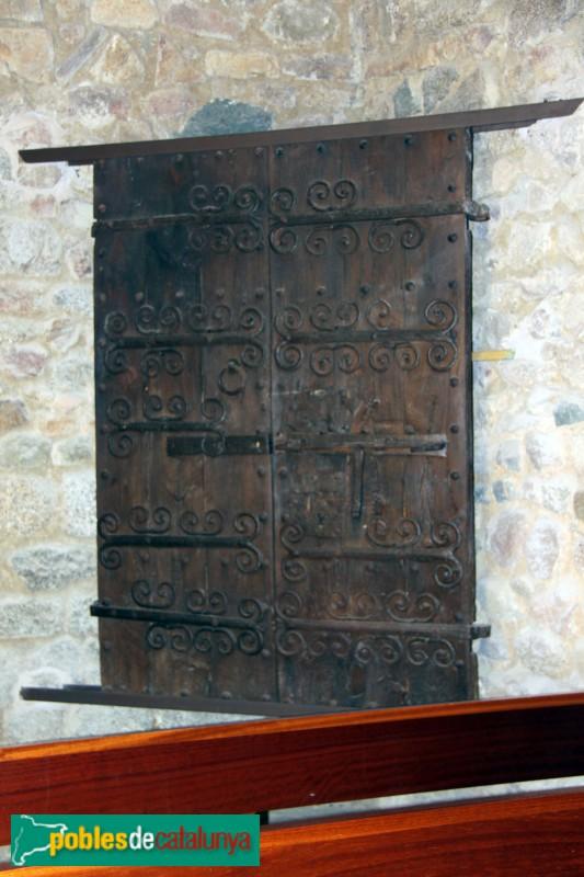Santa Cristina d'Aro - Sant Martí de Romanyà, porta procedent de Sant Cebrià dels Alls