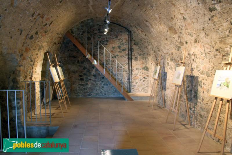 Palafrugell - Torre de Sant Sebastià, interior
