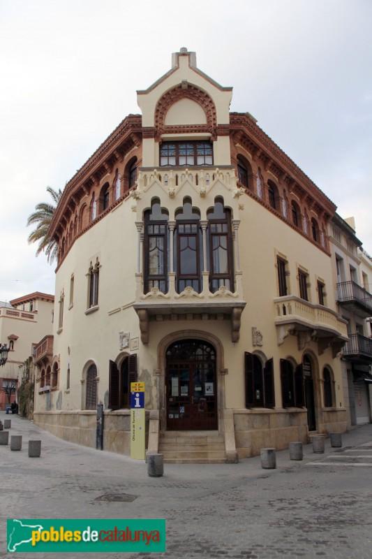 Canet de Mar - Casa Domènech i Montaner