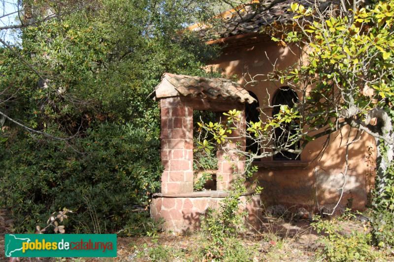Torrelles de Llobregat - Can Güell, detall del pou