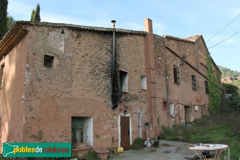 Torrelles de Llobregat - Can Güell, façana posterior