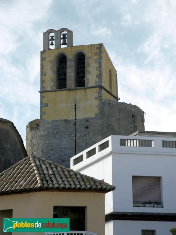 Sant Pol - Església de Sant Jaume, campanar