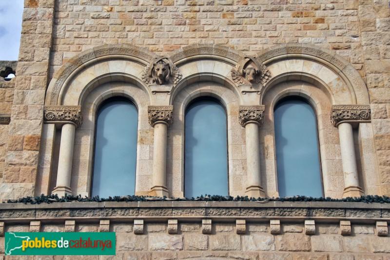 Castelldefels - Església, detall