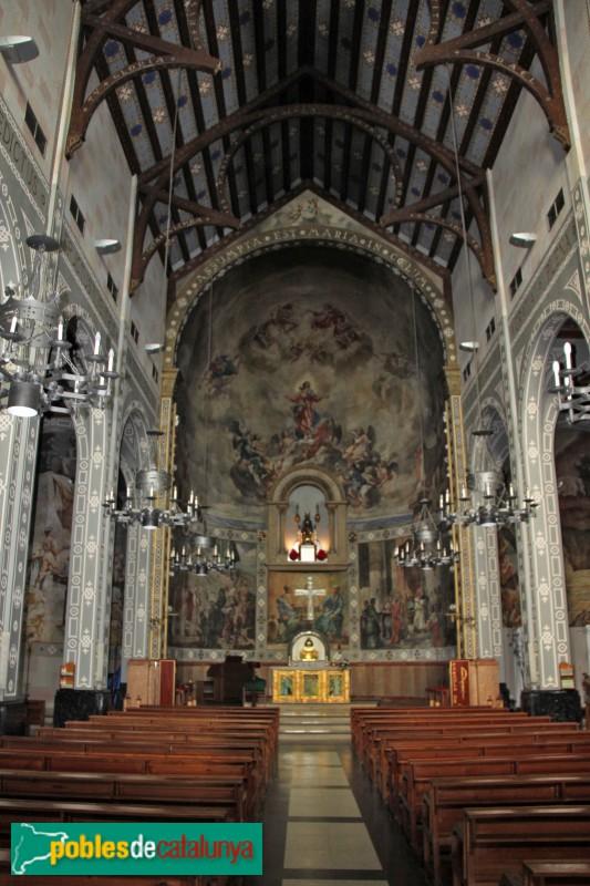 Castelldefels - Església, interior