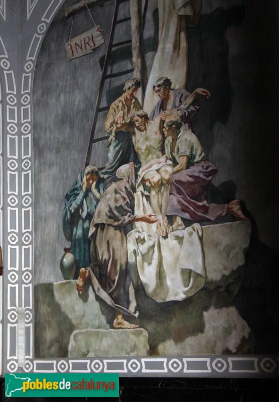 Castelldefels - Església, pintures