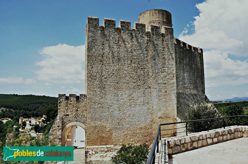 Castellet i la Gornal - Castell de Castellet, detall