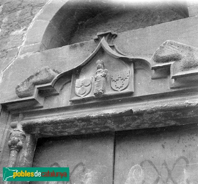 Gavà - Ermita de Bruguers -Arxiu fotogràfic C.E.C.-