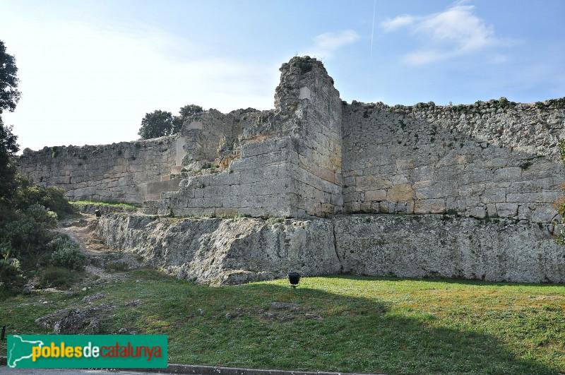 Olèrdola - Muralla