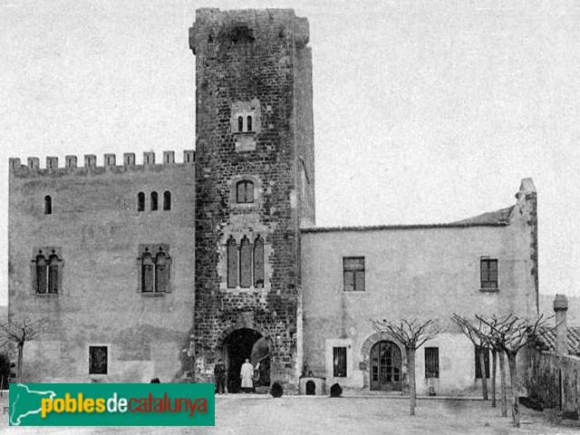Viladecans - Torre Roja, abans de la restauració