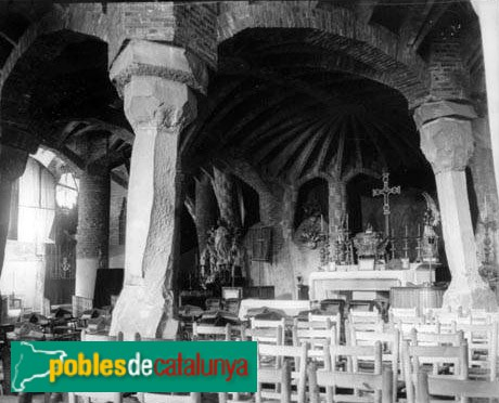 Colònia Güell - Cripta (interior)