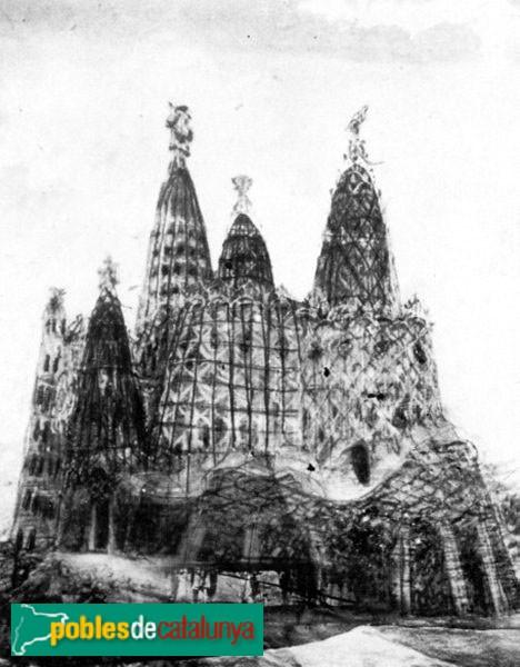 Santa Coloma de Cervelló - Projecte de Gaudí