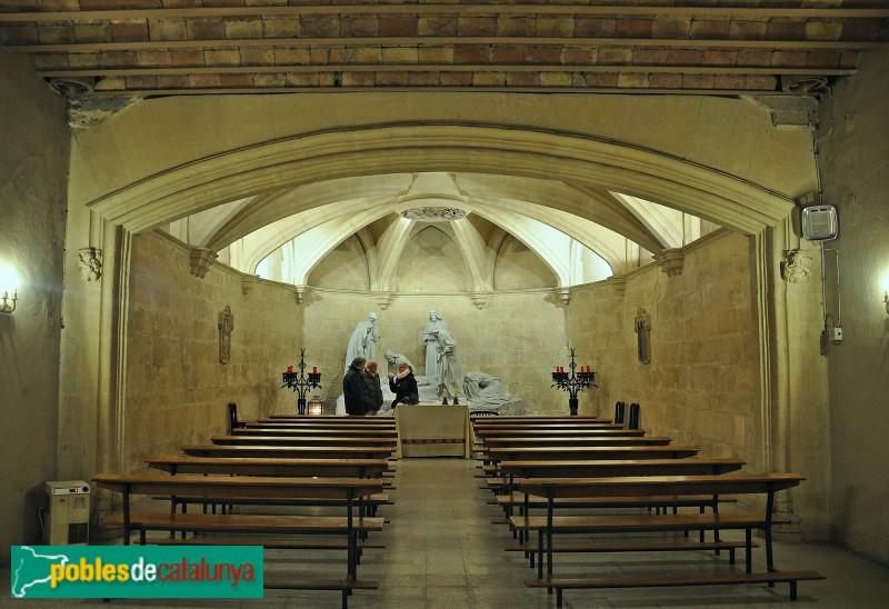 Basílica de Santa Maria - Grup escultòric