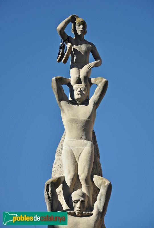 Vilafranca - Monument als Castellers