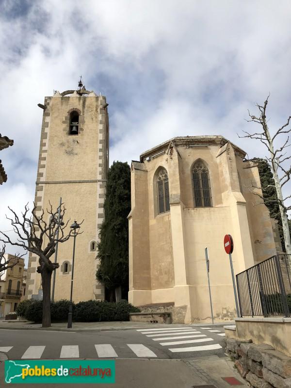 Sant Vicenç Montalt - Església