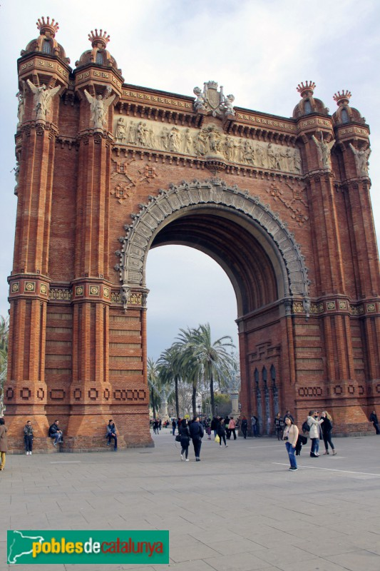 Barcelona - Arc de Triomf