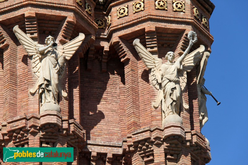 Barcelona - Arc de Triomf, les Fames