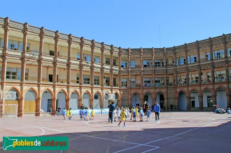 Barcelona - Escola Maristes, antic claustre (1)