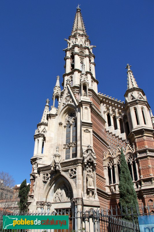 Barcelona - Església de les Saleses
