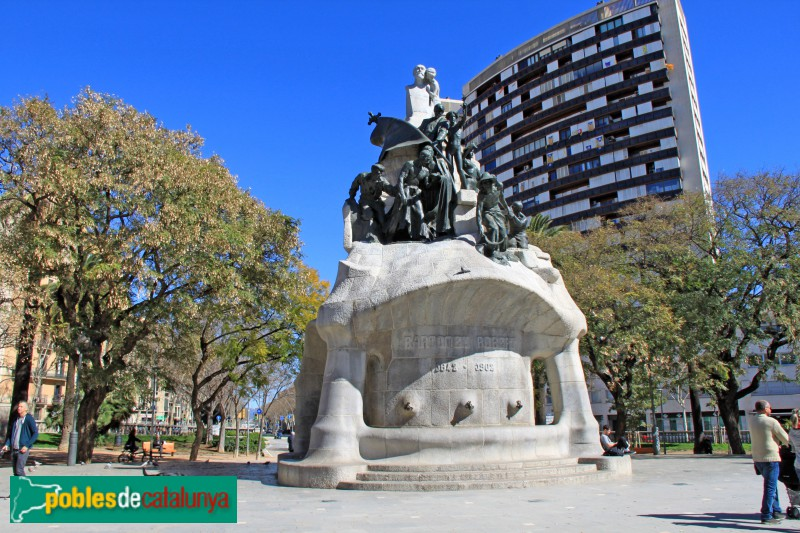 Barcelona - Monument al Doctor Robert