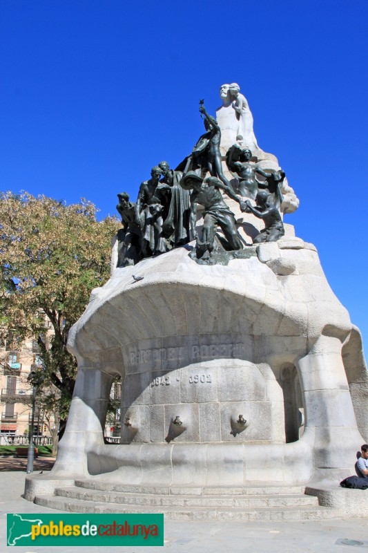 Barcelona - Monument al Doctor Robert