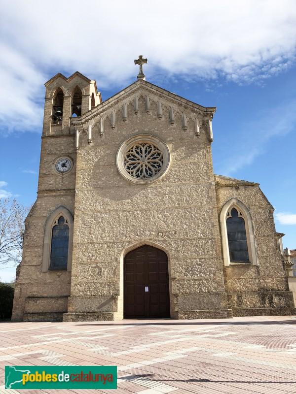 IMG_8652Santa Margarida i els Monjos - Església nova de Santa Margarida