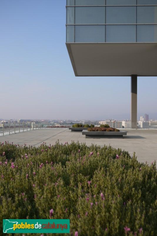 Barcelona - Edifici Districte 38, terrassa