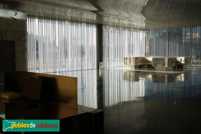 Barcelona - Edifici Districte 38, vestíbul