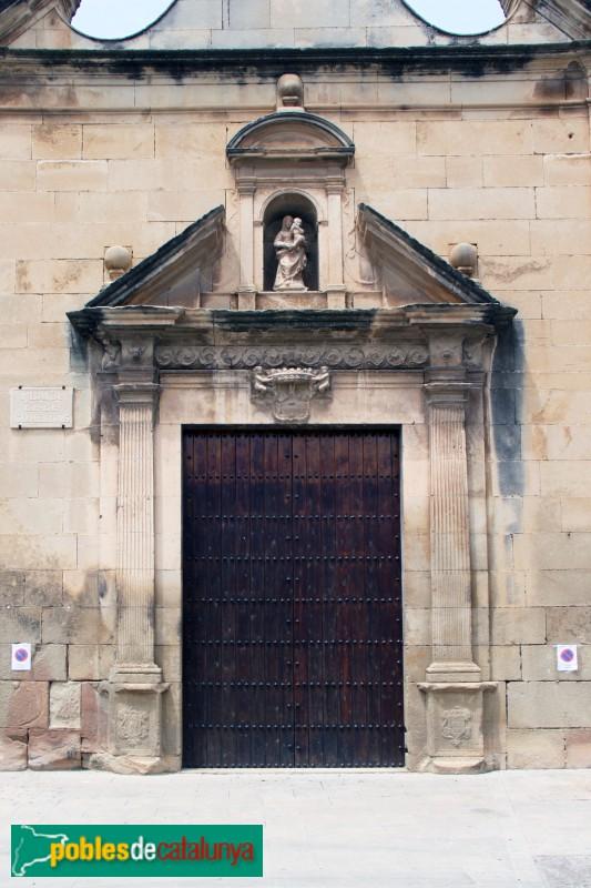 Verdú - Església de Santa Maria, portada renaixentista